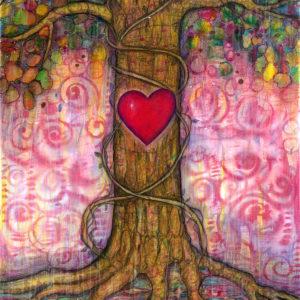 The Crimson Heart of Trees