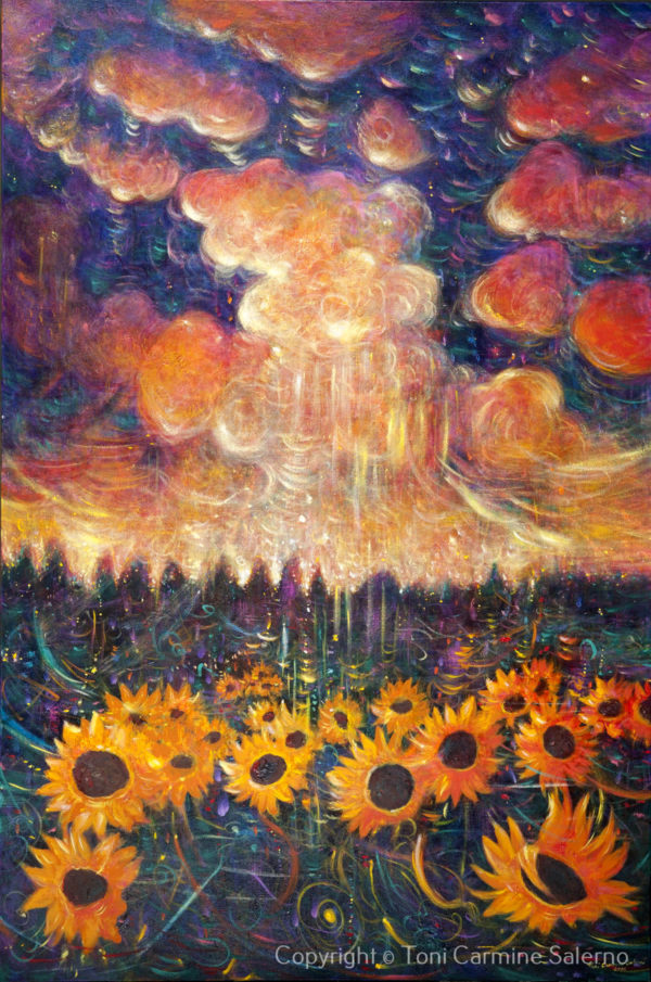 Sunflowers & Clouds